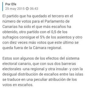 Ley Electoral Canaria
